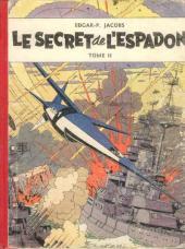 Blake et Mortimer (Les aventures de) (Historique) -2- Le Secret de l'Espadon - Tome II