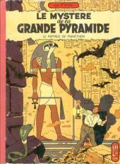 Blake et Mortimer (Historique) -3a59- Le Mystère de la Grande Pyramide - Le Papyrus de Manéthon