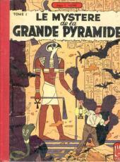 Blake et Mortimer (Historique) -3- Le Mystère de la Grande Pyramide - Tome I