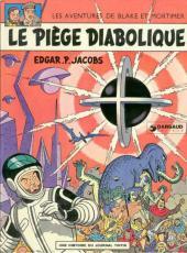 Blake et Mortimer (Historique) -8c1972- Le Piège diabolique