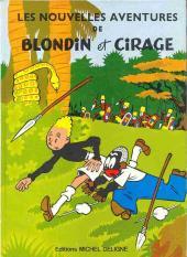 Blondin et Cirage -4a1977- Les nouvelles aventures de Blondin et Cirage