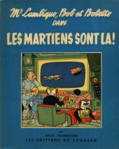 Bob et Bobette (Collection du Lombard) -5- Les Martiens sont là!