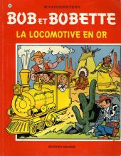 Bob et Bobette -162- La locomotive en or