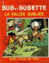 Bob et Bobette -191- La vallée oubliée / Quel Coco, ce Tico