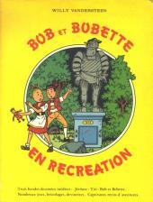 Bob et Bobette -HS1- Bob et Bobette en récréation