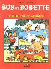 Bob et Bobette (Publicitaire) -Pr2- Joyeux jeux de vacances