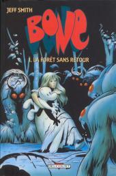 Bone (Delcourt, en noir et blanc) -1- La Forêt sans retour