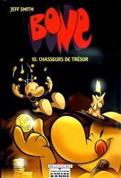 Bone (Smith, chez Delcourt, en noir et blanc) -10- Chasseurs de trésor