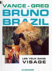 Bruno Brazil -3d1996- Les yeux sans visage