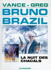Bruno Brazil -5c1998- La nuit des chacals