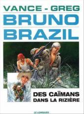 Bruno Brazil -7b2000- Des caïmans dans la rizière