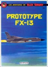 Buck Danny -24d85- Prototype FX-13