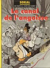 Canardo (Une enquête de l'inspecteur) -9- Le canal de l'angoisse