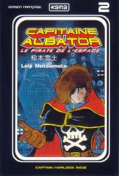 Capitaine Albator - Le pirate de l'espace -2- Captain Harlock (n°02)