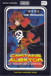 Capitaine Albator - Le pirate de l'espace -3- Captain Harlock (n°03)
