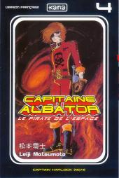 Capitaine Albator - Le pirate de l'espace -4- Captain Harlock (n°04)