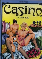 Casino -1- Le train bleu