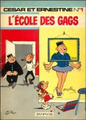 César et Ernestine -1- L'école des gags