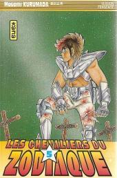 Les chevaliers du Zodiaque (Kana) -5- Le Chevalier d'argent à la beauté meurtrière !