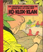Chick Bill (collection du Lombard) -7- Ko-Klox-Klan