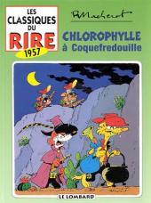 Chlorophylle -INT2- Chlorophylle à Coquefredouille