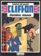 Clifton -12- Dernière séance