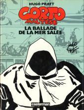 Corto Maltese (Couleur Format Normal) -3- La ballade de la mer salée