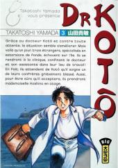 Dr Kotô -3- Tome 3