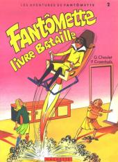 Fantômette (Les aventures de) -2- Fantomette livre bataille