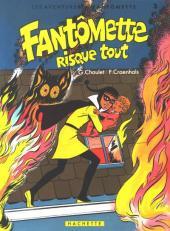 Fantômette (Les aventures de) -3- Fantômette risque tout