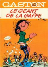 Gaston -10- Le géant de la gaffe