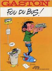 Gaston (Hors-série) -FB05- Fou du bus - Sté Transports Poitevins