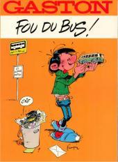 Gaston (Hors-série) -FB0- Fou du bus