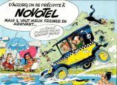 Gaston (Hors-série) -Pub- Gaston au Novotel