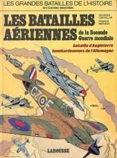 Les grandes batailles de l'histoire en BD -5- Les batailles aériennes de la seconde guerre mondiale