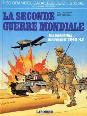 Les grandes batailles de l'histoire en BD -4- La seconde guerre mondiale - les batailles du désert