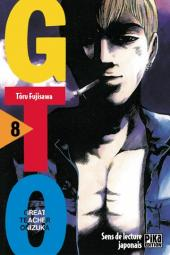 Couverture de GTO -8- Volume 8