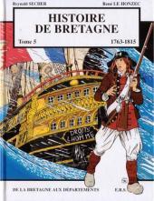 Histoire de Bretagne -5- De la Bretagne aux départements