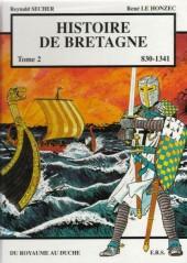 Histoire de Bretagne -2- Du royaume au duché