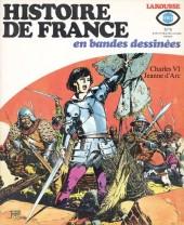 Histoire de France en bandes dessinées -9- Charles VI, Jeanne d'Arc