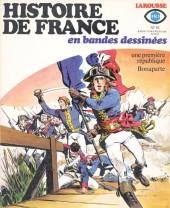 Histoire de France en bandes dessinées -16- Une première république, Bonaparte