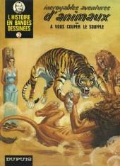 L'histoire en Bandes Dessinées -3- Incroyables aventures d'animaux