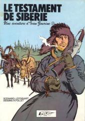 Ivan Zourine -1- Le testament de Sibérie