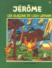 Jérôme -19- Les glaçons de Loch Latham