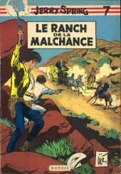 Couverture de Jerry Spring -7- Le ranch de la malchance