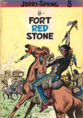 Couverture de Jerry Spring -9- Fort Red Stone