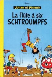 Johan et Pirlouit -9b1971- La flûte à six schtroumpfs