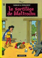 Johan et Pirlouit -13a73- Le sortilège de Maltrochu