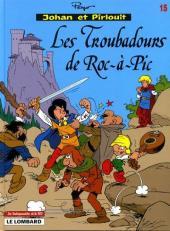 Johan et Pirlouit -15Ind- Les Troubadours de Roc-à-Pic