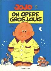 Jojo (Geerts) -3- On opère Gros-Louis